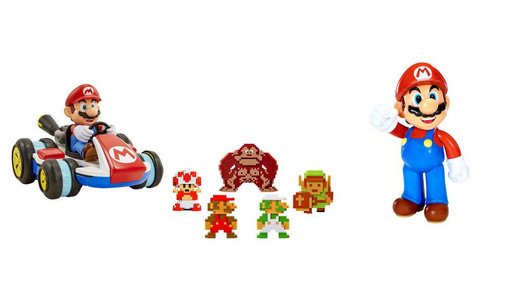 海外の任天堂公認トイ「World of Nintendo」が日本展開、反重力モードで走る「RC マリオカート」やドット絵フィギュアなどが任天堂販売から輸入発売へ