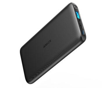 USB-C / Micro USB 2種類の入力ポートが搭載、Ankerから10000mAhの薄型大容量モバイルバッテリーが発売