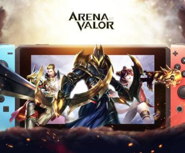 Nintendo Switch版『Arena of Valor』は9月25日より配信開始、テンセントの基本プレイ無料MOBA