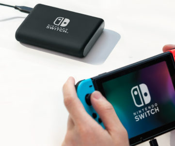 任天堂のお墨付き、公式オススメの Nintendo Switch 用モバイルバッテリーや充電スタンドはこれ