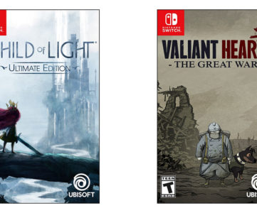 Ubisoft、『Child of Light』『Valiant Hearts』がNintendo Switchに対応