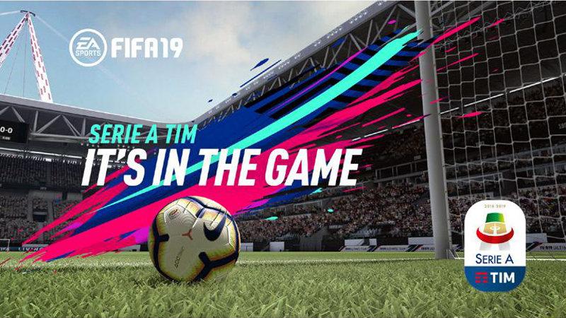 『FIFA 19』にセリエAが実名収録、公式ロゴやボール、トロフィーなど本物が再現