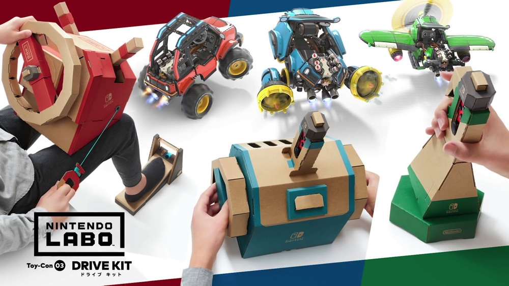 『Nintendo Labo Toy-Con 03: Drive Kit』で遊べるすべてのモード紹介