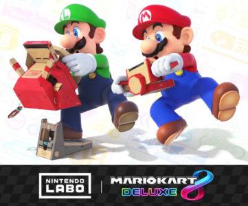 『Nintendo Labo ドライブキット』の「クルマToy-Con」が『マリオカート8 デラックス』のハンコンに、『DEEMO』は「ピアノToy-Con」に対応へ