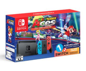『1-2-Switch』『マリオテニス エース』同梱スイッチ本体セットが海外発売へ