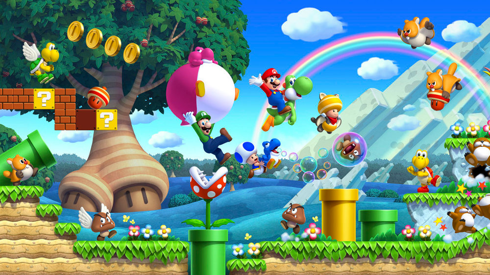 """噂:Wii Uソフトの次なるニンテンドースイッチ移植は『New スーパーマリオブラザーズ U』に?『ルイージU』収録など""""デラックス""""な内容か"""