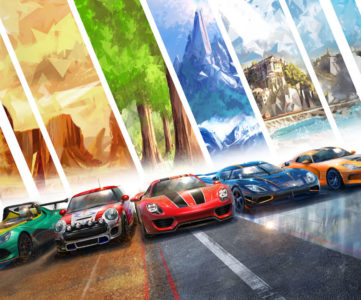 Switch向けリアル系レース最新作『ギア・クラブ アンリミテッド2』がこの冬登場、新車種・新ステージ・ストーリーモードなどボリューム増