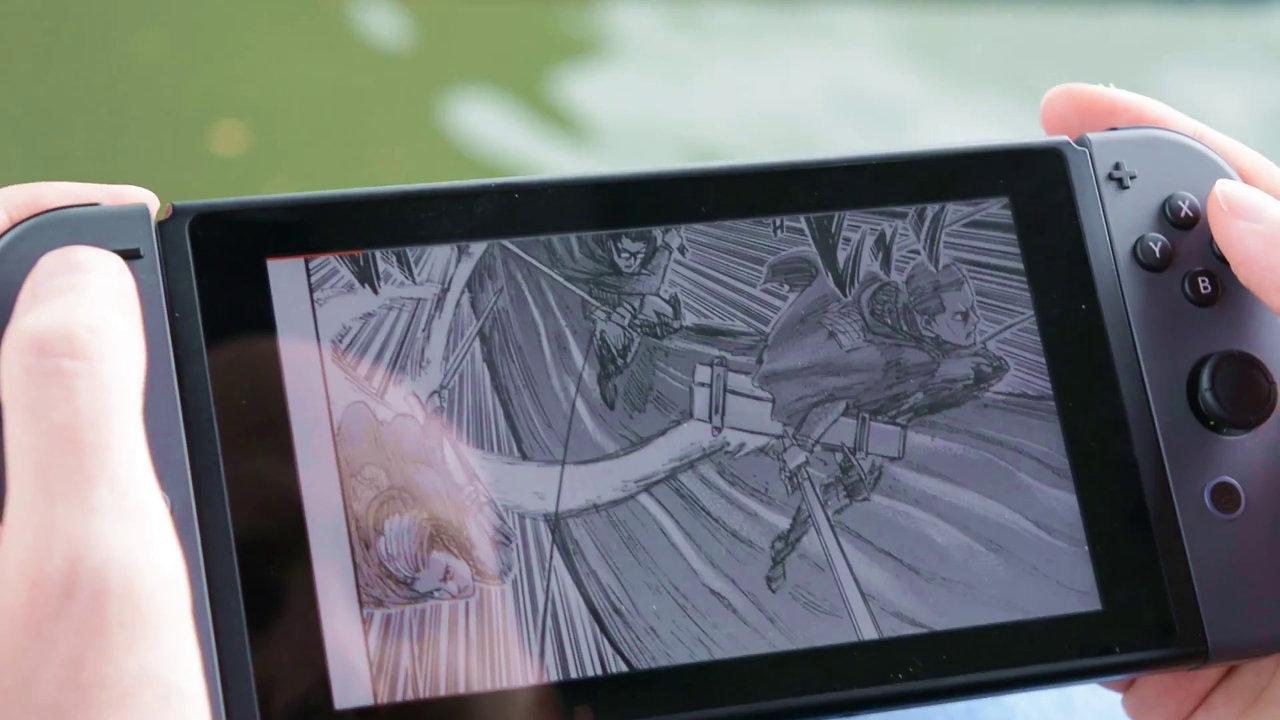Nintendo Switchで電子コミック読書、海外サービスが相次いで参入