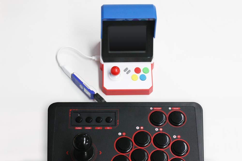 『NEOGEO mini』でPS4/PS3用コントローラーやアーケードスティックを使えるようにするコンバーター