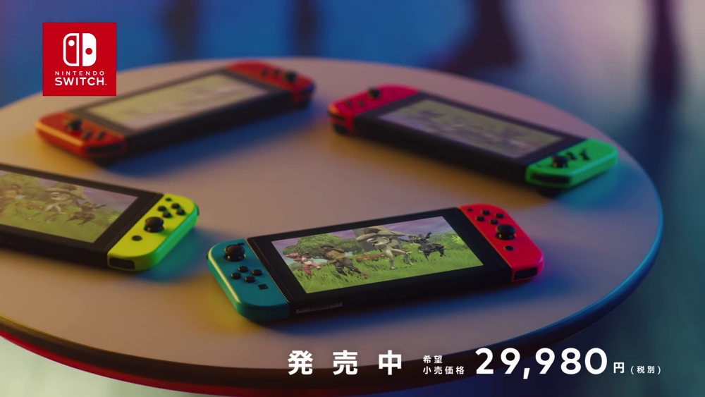 """白熱のマルチプレイタイトルを紹介するNintendo Switchの2018年秋CM""""戦いの秋"""""""