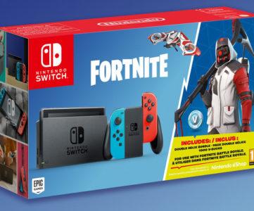 『フォートナイト』Nintendo Switch同梱本体セットが海外で発売、特典に「1,000 V-Bucks」「Double Helix Set」付属