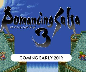 HDリマスター版『ロマンシング サガ3』が2019年初頭に発売、シリーズ最新作も