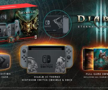 『Diablo III』同梱 Nintendo Switch 本体セットが欧米で発売