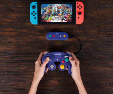 Nintendo SwitchにGCコンやWiiクラコン等をワイヤレス接続する変換アダプター