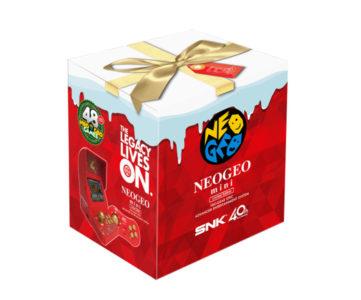 『NEOGEO mini』にクリスマス仕様の限定版、従来よりも8タイトル多く収録、コントローラーも2個付属
