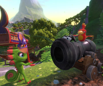 Playtonicの『バンカズ』後継3Dアクション『Yooka-Laylee』が累計100万本を突破