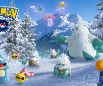 ポケモンGO:19日から年末年始イベント「Pokémon GO ホリデー」、こおりポケモン多数登場、アメ・XP・ほしのすな2倍など