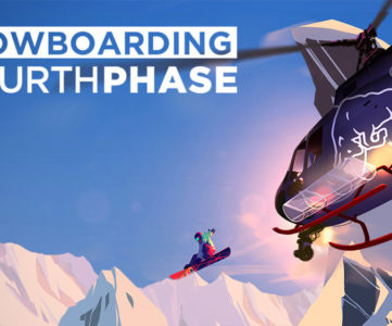 スノボアクション『Snowboarding The Next Phase』が Nintendo Switch に対応