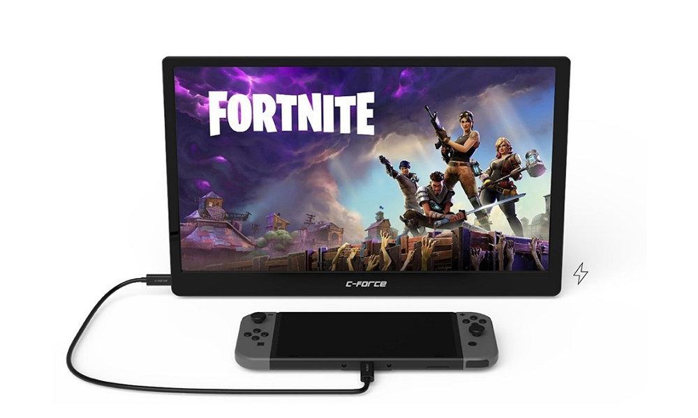 軽量・大画面、USB-C で簡単接続できる Nintendo Switch 対応モバイルディスプレイ