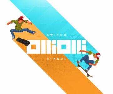 2Dスケボーアクション『OlliOlli: Switch Stance』が2月14日に配信開始、『1』&『2』をセットにした決定版