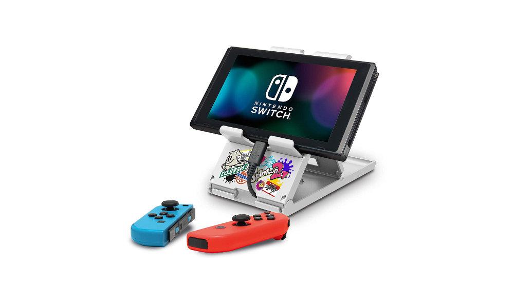 充電しながら遊べる、『スプラトゥーン2』デザインのNintendo Switch用プレイスタンド