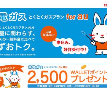「東電ガス for au」は東京ガスの一般料金と比べて必ずおトクなauユーザー向けガス料金プラン、「auでんき」とあわせれば更にお得に