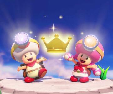 Switch『進め!キノピオ隊長』が2人プレイに対応アップデート、追加コンテンツで新コースや遊びも追加