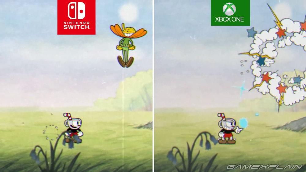 【比較】Nintendo Switch版『Cuphead』のXbox One版とのグラフィックやロード時間の違い