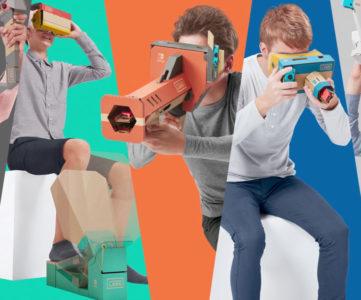 Switch『Nintendo Labo: VR Kit』は64種類のVRゲームを収録、Toy-Conガレージで自分だけのVRゲーム作成