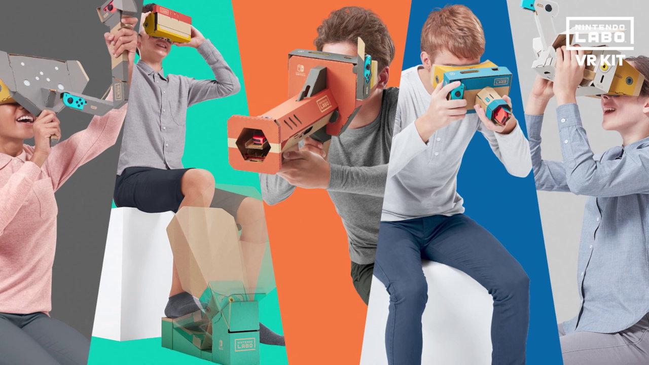 『Nintendo Labo: VR Kit』は64種類のVRゲームを収録、Toy-Conガレージで自分だけのVRゲーム作成