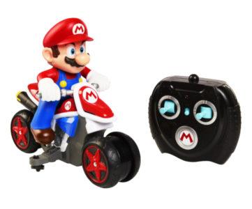 今度はバイク、反重力モードでも走る「RCマリオカート」第2弾
