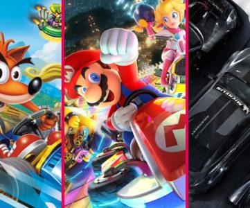 【Nintendo Switch】おすすめレースゲーム 7選