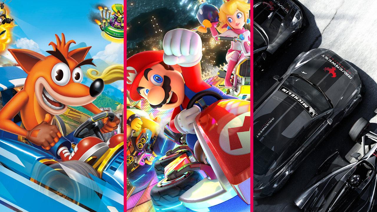 【Nintendo Switch】おすすめのレースゲーム 4選