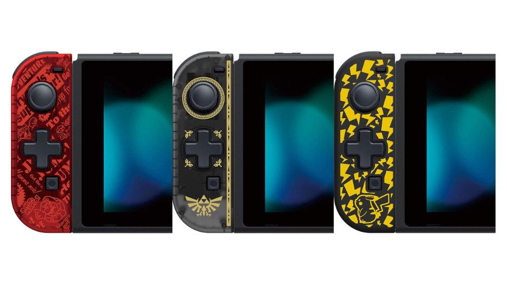 Nintendo Switch向け携帯モード専用十字コン『スーパーマリオ』『ゼルダの伝説』『ピカチュウ』デザインが国内でも発売
