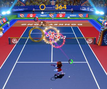 Switch『マリオテニス エース』が「Ver.3」で新モード「リングショット」や「新OPムービー」追加、キャラクターは更に増える