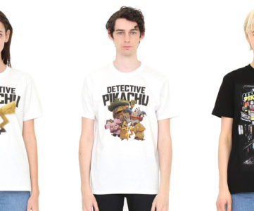 映画名探偵ピカチュウ×グラニフ、デザインTシャツが3種発売