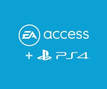 EA、今夏よりPS4でもサブスクリプション「EA Access」を展開