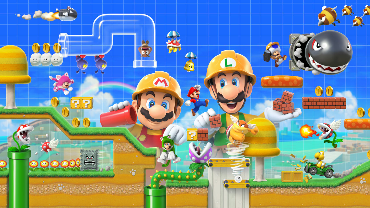 【スーパーマリオメーカー2】Wii U/3DSで作成したコースをSwitchへ転送できる?