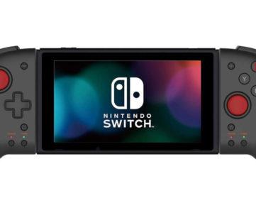 携帯モードが遊びやすくなる「携帯モード専用グリップコントローラー for Nintendo Switch」