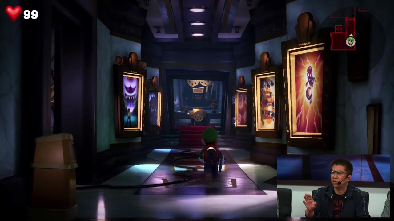 t011.orgSwitch『ルイージマンション3』はNext Level Games開発、Wii U時代から実験を行っていた