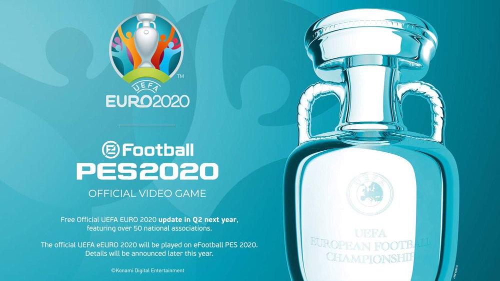 コナミ、『ウイイレ2020』に「UEFA EURO 2020」を収録へ