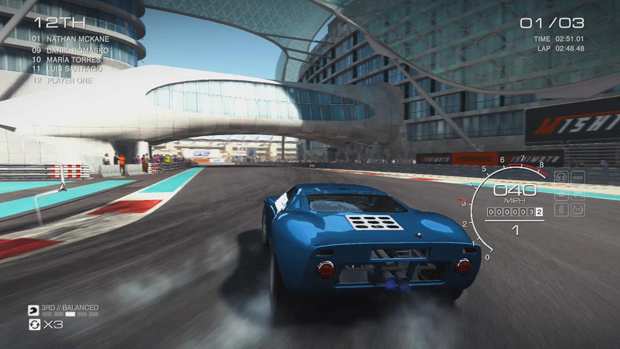 Switch版『GRID Autosport』はゲームキューブコントローラ操作にも対応