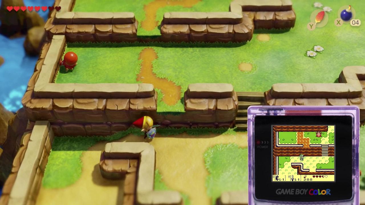 【比較】『ゼルダの伝説 夢をみる島』Nintendo Switchリメイク版の特徴やTVモード/携帯モード時のパフォーマンス、原作からの進化