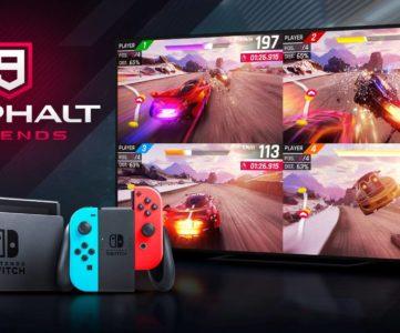 『アスファルト9:Legends』Nintendo Switch版のダウンロード数が1週間で100万件を突破