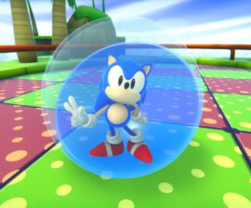 """『たべごろ!スーパーモンキーボール』に""""ソニック・ザ・ヘッジホッグ""""が登場、特別仕様で駆け抜ける"""