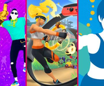 【Nintendo Switch】自宅で運動、楽しく体を動かせるおすすめのエクササイズ・フィットネスゲーム