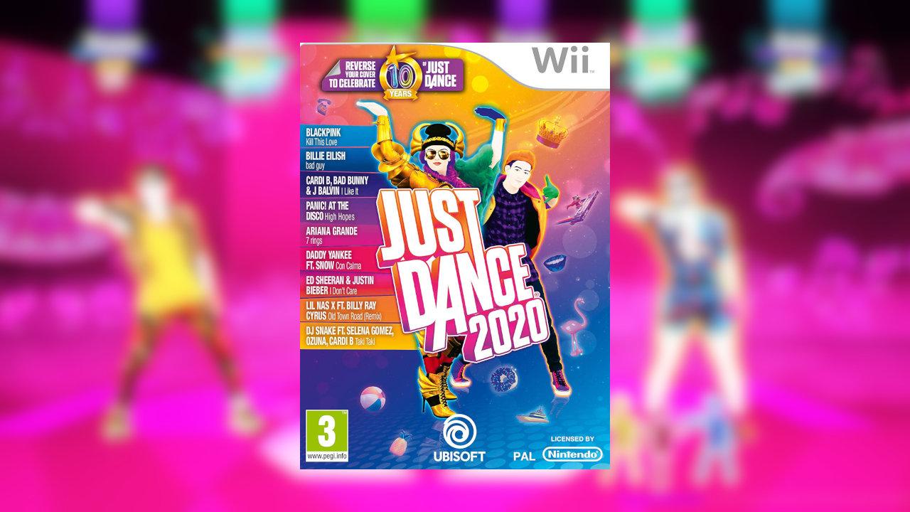 UK:Wii版『Just Dance 2020』はPS4版やXbox One版を上回る出足