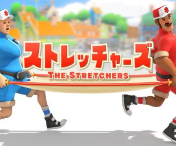 任天堂、Switch『ストレッチャーズ』配信開始、2人で協力して「クラクラさん」になった島民を救うアクションゲーム