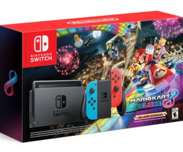 スペイン:Nintendo Switchが累計100万台を突破、今年最も売れたコンソールに