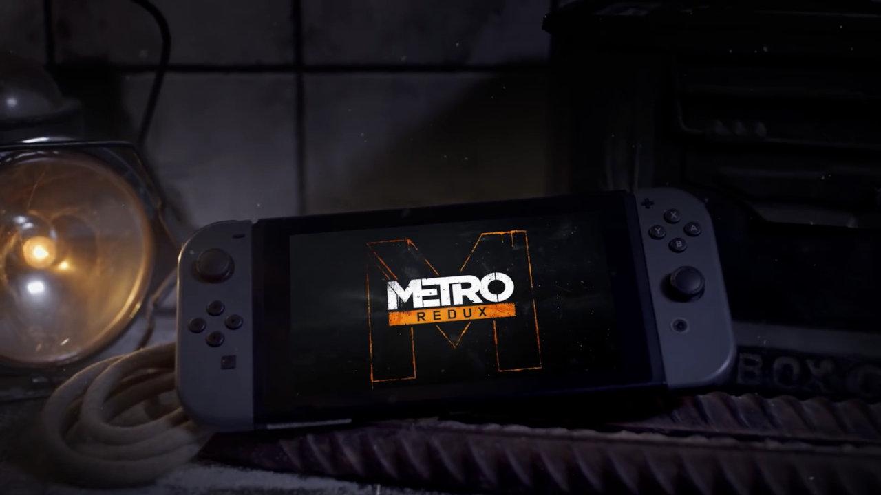 【比較】『Metro Redux (メトロ リダックス ダブルパック)』Nintendo Switch版の特徴や他機種版との違い